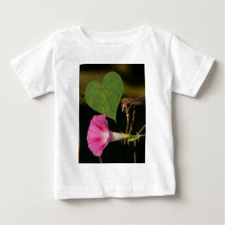 Heart and Flower Tee Shirts