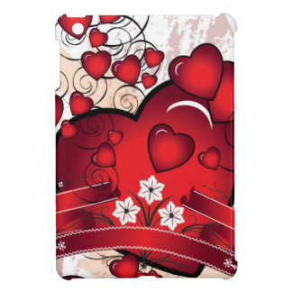 Heart and Full of Love in Valentines iPad Mini Covers