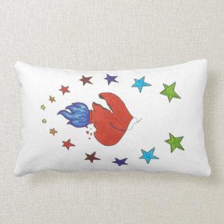 Heart and Stars Lumbar Cushion