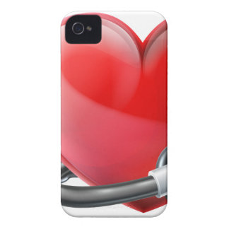 Heart and Stethoscope Concept iPhone 4 Cover