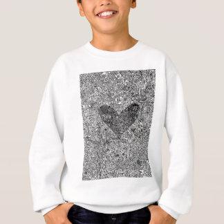 Heart and Symbols Sweatshirt