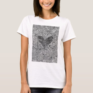 Heart and Symbols T-Shirt