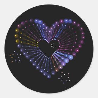 heart ans stars sticker
