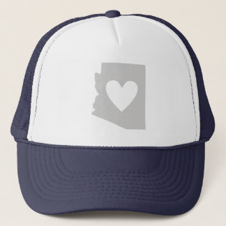 Heart Arizona state silhouette Trucker Hat