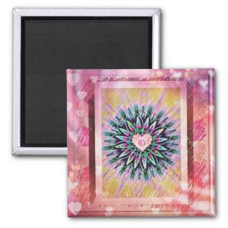 Heart art Magnet