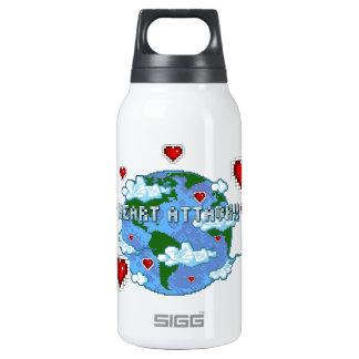 Heart Attack!!! 0.3L Insulated SIGG Thermos Water Bottle