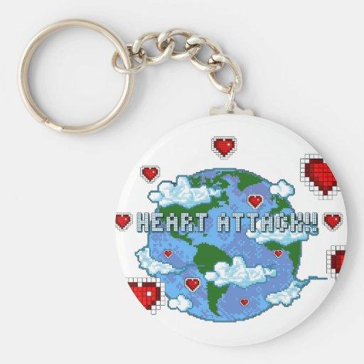 Heart Attack!!! Key Chain
