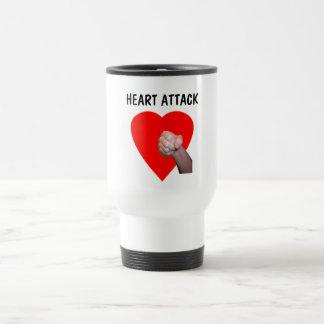 Heart Attack Coffee Mugs