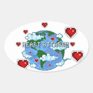 Heart Attack!!! Sticker