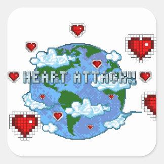 Heart Attack!!! Stickers