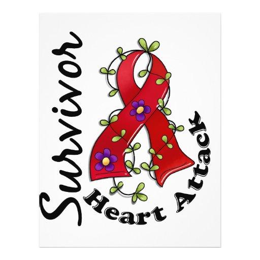Heart Attack Survivor 15 Custom Flyer