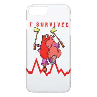 Heart Attack Survivor iPhone 8 Plus/7 Plus Case