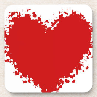 Heart Attraction Beverage Coasters