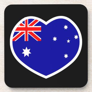 Heart Australia Coaster