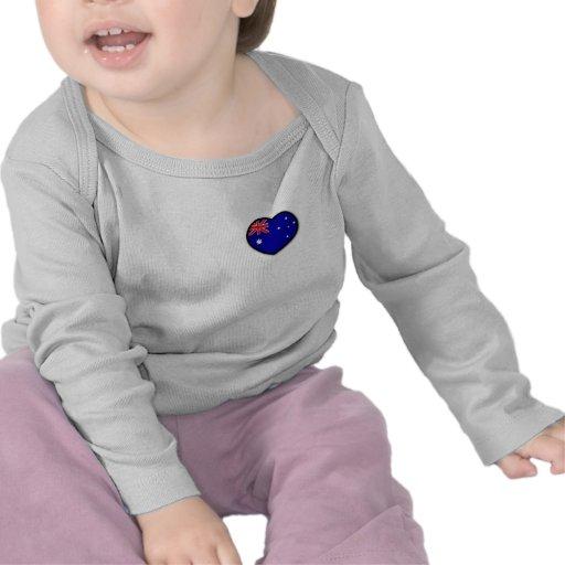 Heart Australia Infant Long Sleeve Tshirts