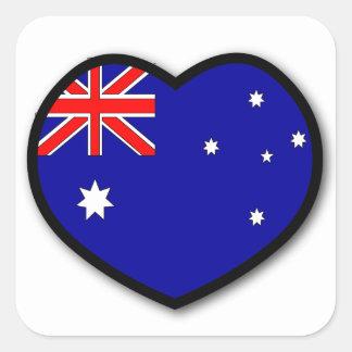 Heart Australia Sticker