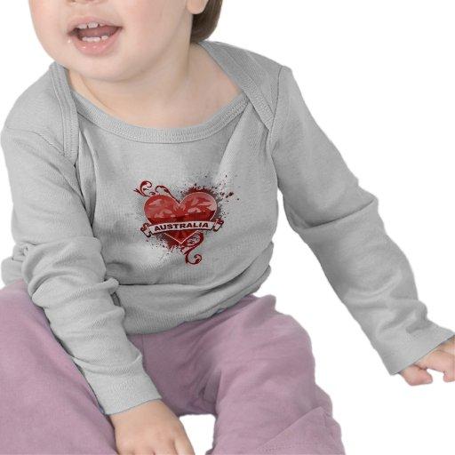 Heart Australia Shirts