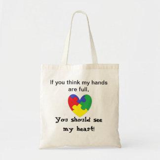 Heart Autism Bag