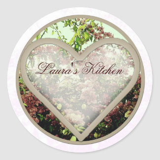 heart azaleas jar labels
