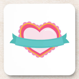 Heart Banner Coaster