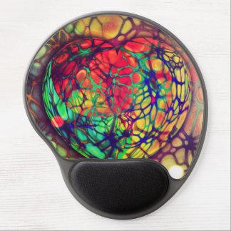 Heart Beat Art Mosaic Gel Mouse Pad