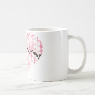 Heart Beat III Basic White Mug