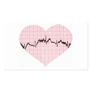 Heart Beat III Pack Of Standard Business Cards