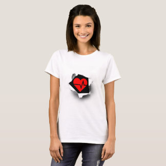 Heart beat – keep it ticking! T-Shirt
