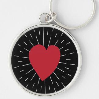 Heart Beat Key Ring