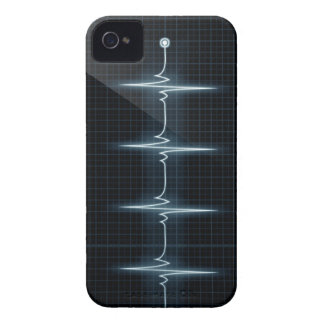 Heart Beat Pulse Trace iPhone 4 Barely There Case-Mate iPhone 4 Case