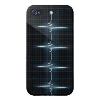 Heart Beat Pulse Trace iPhone 4 Case Savvy Matte
