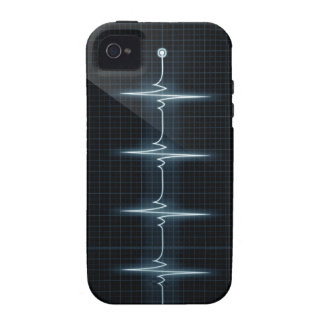Heart Beat Pulse Trace iPhone 4 Vibe Case-Mate iPhone 4 Cases
