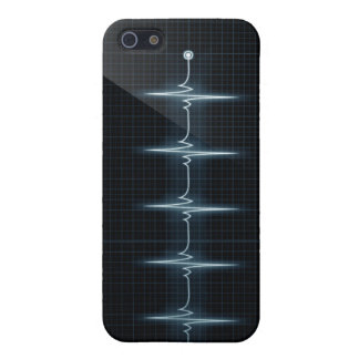 Heart Beat Pulse Trace iPhone 5 Case Savvy Matte