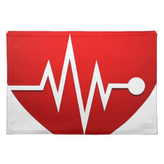 Heart Beat Rate Placemat