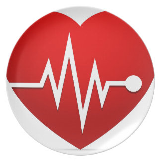 Heart Beat Rate Plate