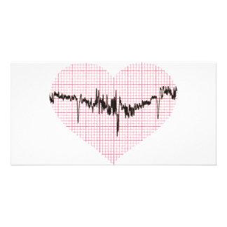 Heart Beat VI Photo Card