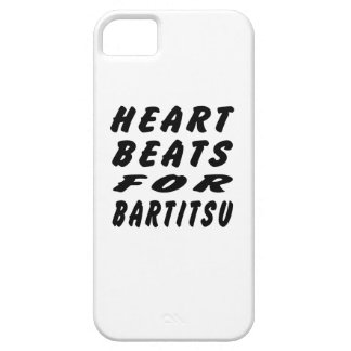 Heart Beats For Bartitsu iPhone 5 Covers