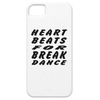 Heart Beats For Breakdance iPhone 5 Case