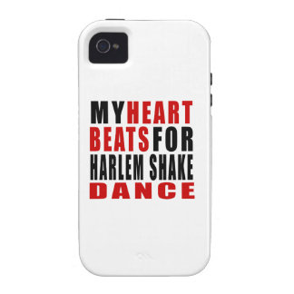 HEART BEATS FOR HARLEM SHAKE Case-Mate iPhone 4 CASES