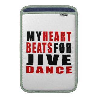 HEART BEATS FOR JIVE MacBook AIR SLEEVES