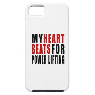 HEART BEATS FOR POWER LIFTING iPhone 5 COVERS