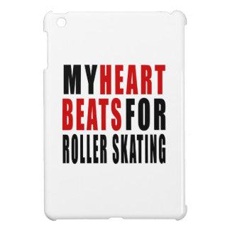 HEART BEATS FOR ROLLER SKATING iPad MINI COVERS