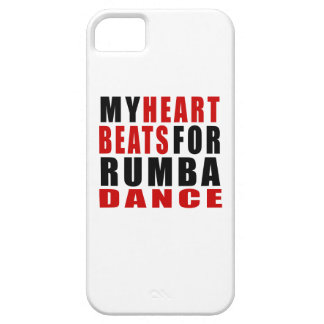 HEART BEATS FOR RUMBA. iPhone 5 CASES