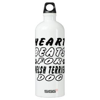 Heart Beats For Welsh Terrier SIGG Traveller 1.0L Water Bottle