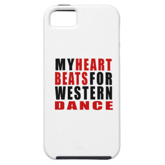 HEART BEATS FOR WESTERN DANCE iPhone 5 COVERS
