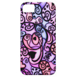 Heart Beats Singing, Stained Glass style iPhone 5 Cover