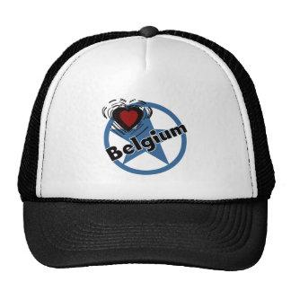 Heart Belgium Cap
