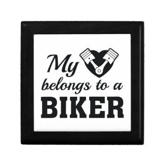 Heart Belongs Biker Gift Box