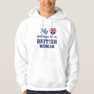 Heart Belongs British Hoodie