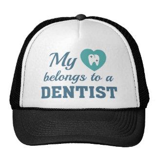 Heart Belongs Dentist Cap